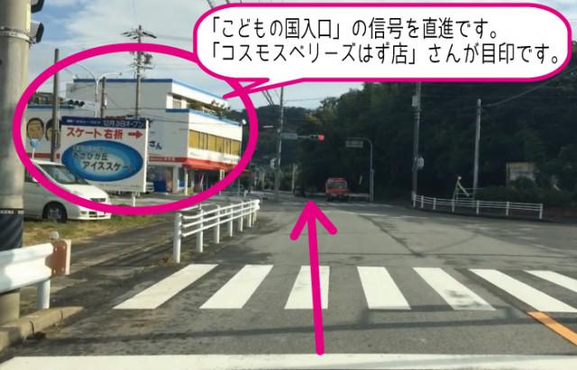 西尾市・吉良町・一色町方面から(旧道)
